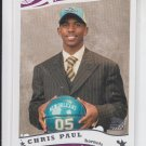 Chris Paul Rookie Card 2005-06 Topps #224 Hornets