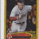 Will Middlebrooks RC Gold Spakle Parallel 2012 Topps Update Series #US265 Padres