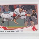 Will Middlebrooks Trading Card 2013 Topps Mini Exclusives #64 Red Sox Padres