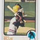 Vida Blue Baseball Trading Card 1973 Topps #430 Athletics VGEX *BILL