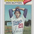 Don Sutton Baseball Trading Card 1977 Topps #620 Dodgers NMT *BILL