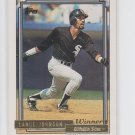 Lance Johnson Gold Winners Parallel 1992 Topps #736 White Sox *BILL