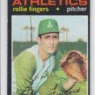 Rollie Fingers Baseball Trading Card 1971 Topps #384 Athletics EX+ *BILL