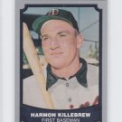 Harmon Killebrew Trading Card Single 1988 Pacific Legends #86 Twins