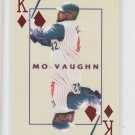 Mo Vaughn Kings of the Diamond 2000 Pacific Invincible #1 Angels *BILL