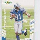 Calvin Johnson RC Trading Card Single 2007 Score #351 Lions