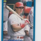 Jose Canseco Trading Card 1995 UD Collector's Choice SE #185 Reds *BILL