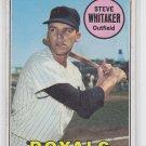 Steve Whitaker Baseball Trading Card 1969 Topps #71 Royals VGEX *BILL