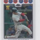 Dustin Pedroia Baseball Trading Card 2nd Year 2008Topps Chrome #66 Red Sox