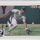 Jerald Clark Silver Script Paralllel 1994 UD Collector's Choice #79 Rockies