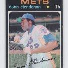 Donn Clendenon Baseball Trading Card 1971 Topps #115 Mets NMT *BILL