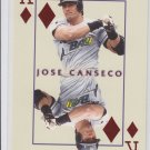 Jose Canseco Kings of the Diamond 2000 Pacific Invincible #28 Rays *BILL