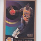Magic Johnson Basketball Trading Card 1990-91 Skybox #136 Lakers