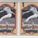 Dennis Eckersley Baseball Trading Card Lot of (2) 2012 Panini Cooperstown  42