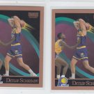 Detlef Schrempf Basketball Trading Card Lot of (2) 1990-91 Skybox #121 Pacers