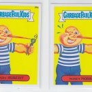 Nosey Norb & Hairy Hubert Lot of (2) 2014 Topps Garbage Pail Kids #88a & #88b