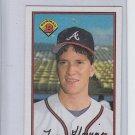 Tom Glavine Baseball Trading Card 1989 Bowman Oversize #267 Braves NMMT