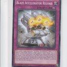 Blaze Accelerator Reload 1st Edition YuGiOh SECE-EN077 x1 Common