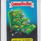 Worn-Out Warren 2013 Topps Garbage Pail Kids Series 3 Trading Card #151a