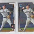 Colin Moran Lot of (2) 2015 Bowman Chrome #BCP149 Astros