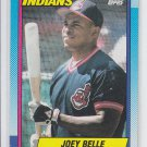 Joey Belle RC Trading Card Single 1990 Topps #283 Indians