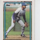 Alfredo Griffin Gold Parallel 1992 Topps #418 Dodgers