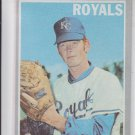 Mike Hedlund Trading Card Single 1970 Topps #187 Royals EX+