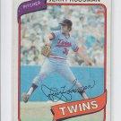 Jerry Koosman Trading card Single 1980 Topps #275 Twins EX