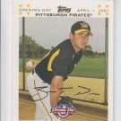 Zach Duke Gold Parallel SP 2007 Topps Opening Day #4 Pirates 0409/2007