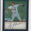 Ryan Jackson 1st Prospect Card 2009 Bowman Chrome Draft #BDPP56 Cardinals