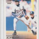 Deivi Cruz Trading Card Single 2000 Pacific Crown Collection Spanish #98 Tigers