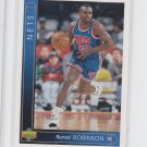 Rumeal Robinson 1993-94 Upper Deck Italian #30 Nets