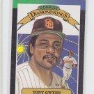 Tony Gwynn Diamond Kings Trading Card 1989 Donruss #6 Padres