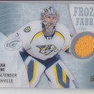 Pekka Rinne Frozen Fabrics 2014-15 Upper Deck Ice #FZF-PR Predators