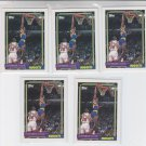 Laphonso Ellis RC Trading Card Lot of (10) 1992-93 Topps #319 Nuggets