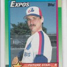 Mark Gardiner RC Trading Card Single 1990 Topps #284 Expos Future Star