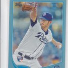 Tom Layne RC Wal Mart Blue Parallel 2012 Topps #290 Red Sox