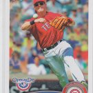 Michael Young Trading Card Single 2011 Topps Opening Day #139 Rangers
