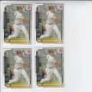 Jose Abreu Lot of (4) 2015 Bowman #120 White Sox