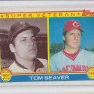 Tom Seaver Super Vet Trading Card 1983 Topps #581 Reds