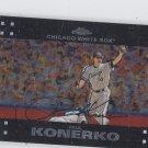 Paul Konerko Trading Card Single 2007 Topps Chrome #18 White Sox