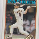 Joey Cora RC Trading Card Single 1988 Topps #91 Padres