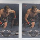 Jose Aldo Trading Card Lot of (2) 2013 Topps UFC Finest #95