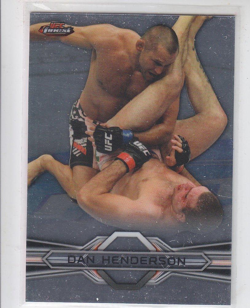 Dan Henderson Trading Card Single 2013 Topps UFC Finest #6