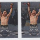 Jim Miller Trading Card Lot of (2) 2013 Topps UFC Finest #35