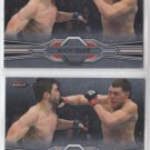 Nick Diaz Trading Card Lot of (2) 2013 Topps UFC Finest #65