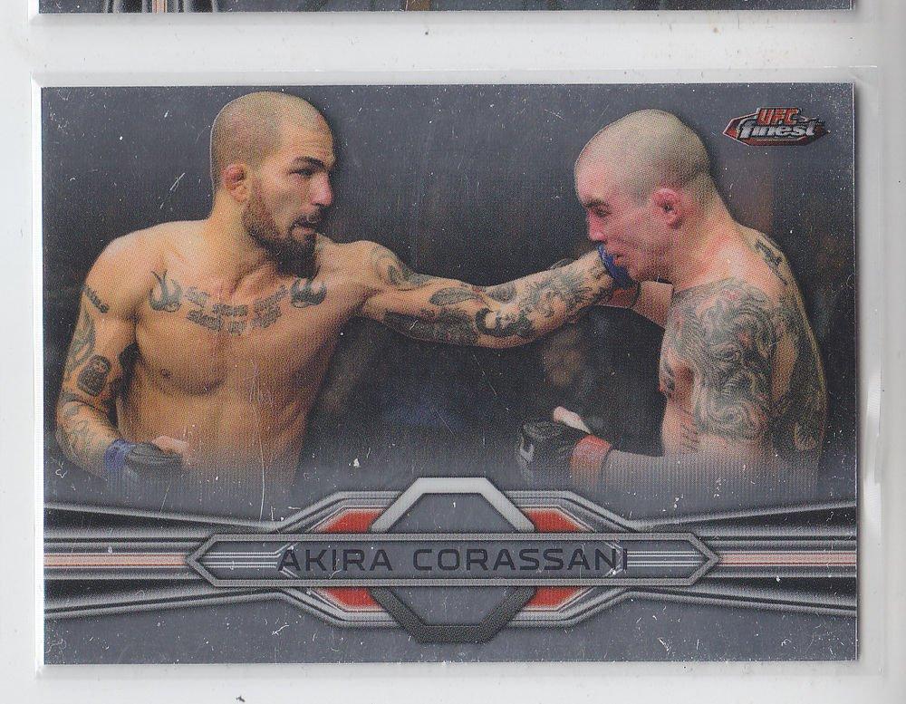 Akira Corassani Trading Card Single 2013 Topps UFC Finest #17
