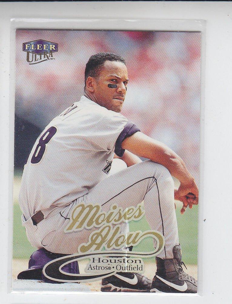 Moises Alou Trading Card Single 1999 Fleer Ultra #158 Astros