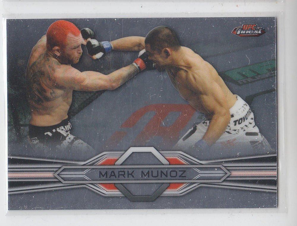 Mark Munoz Trading Card Single 2013 Topps UFC Finest #58