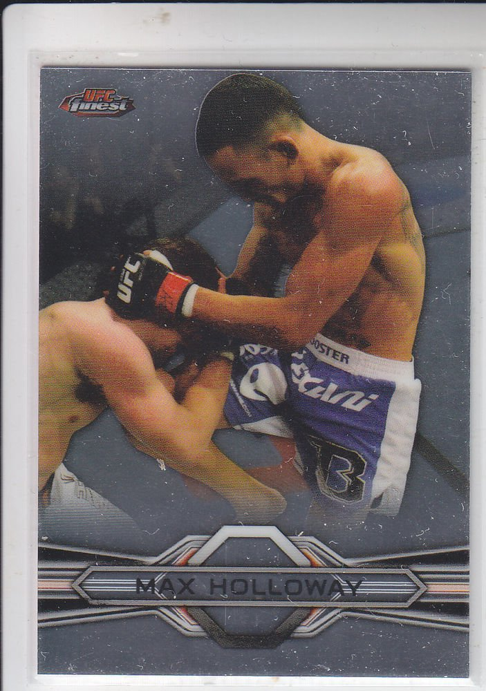 Max Holloway Trading Card Single 2013 Topps UFC Finest #62